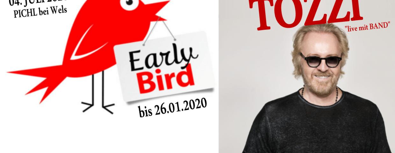 EARLY-BIRD TICKETAKTION für die...