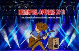 HEIMSPIEL-OPENAIR 2018